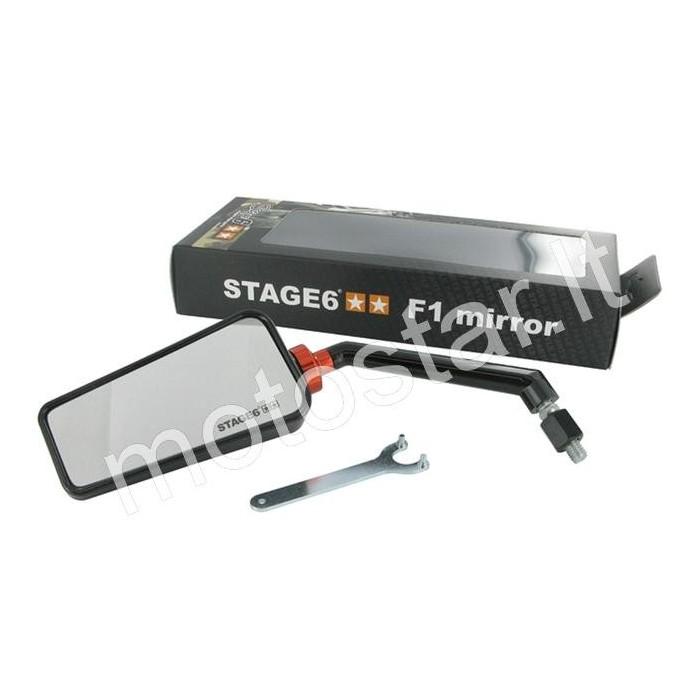 Stage6 F1 juodas veidrodėlis M8