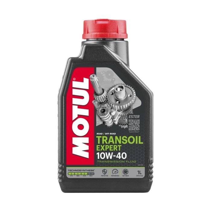 Motul Transoil Expert 2T / 4T 10w40 pusiau sintetinis pavarų dėžės tepalas 1L